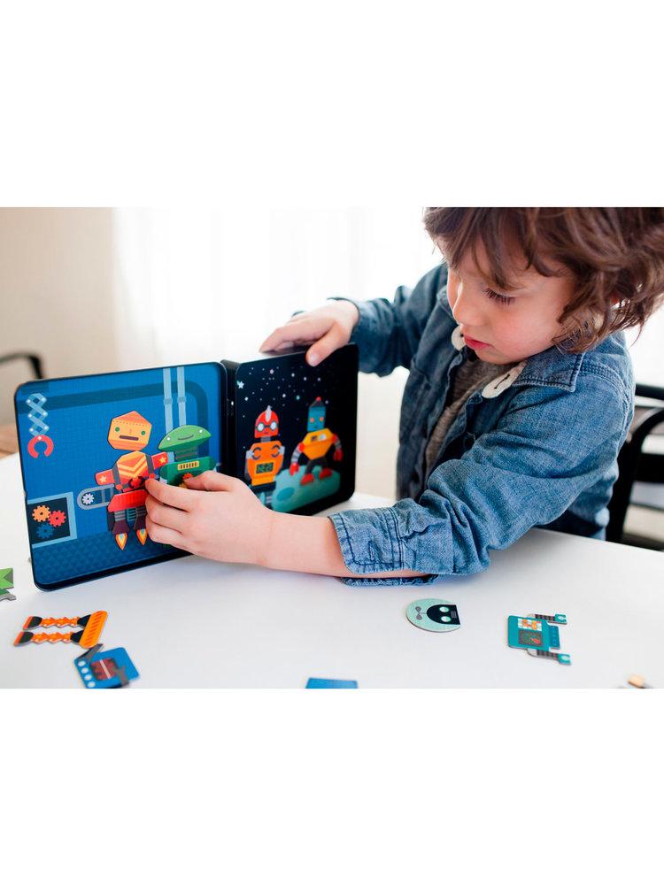 Robot Remix magnetisch spel On-the-go +3jaar