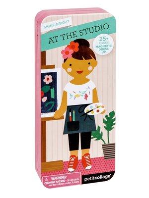 Magnetic Dress up - At the studio magnetisch spel On-the-go +3jaar