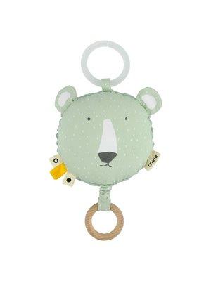 Trixie Trixie muziek doosje / knuffel Mr Polar Bear