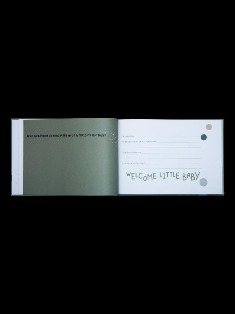 Babyboek - Baby's eerste jaar invulboek