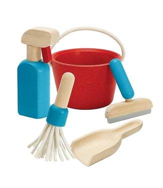 Plan Toys Schoonmaak set (5-delig) van duurzaam hout