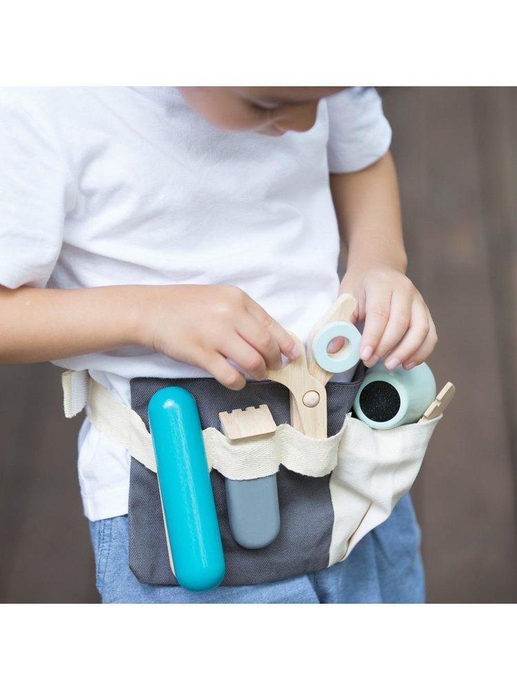 Plan Toys Kapper set - Coiffure set (6-delig) van duurzaam hout