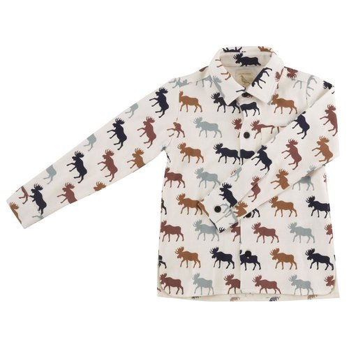 Pigeon Soft jersey shirt moose [multi colour]