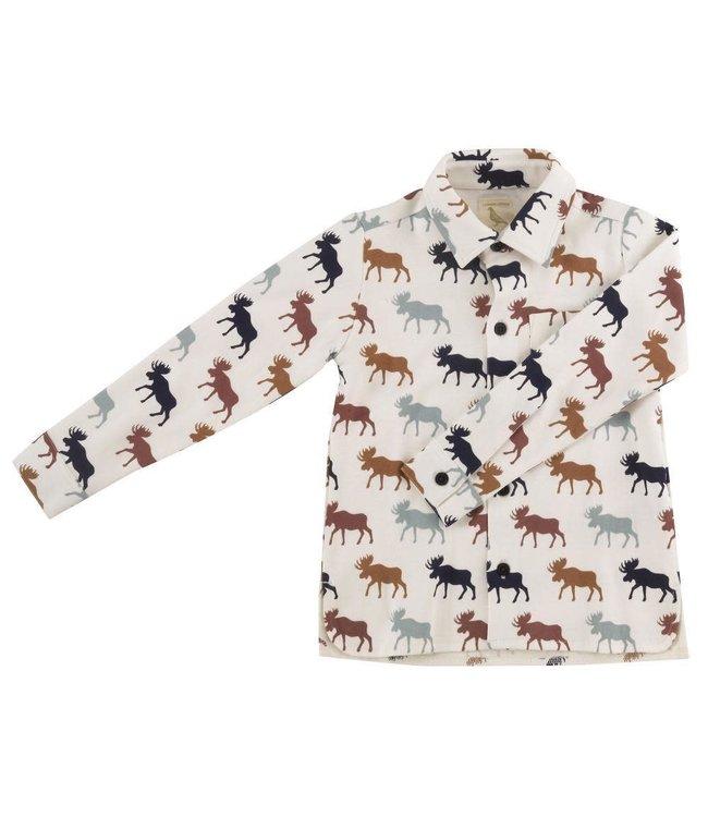 Pigeon Soft jersey shirt Moose