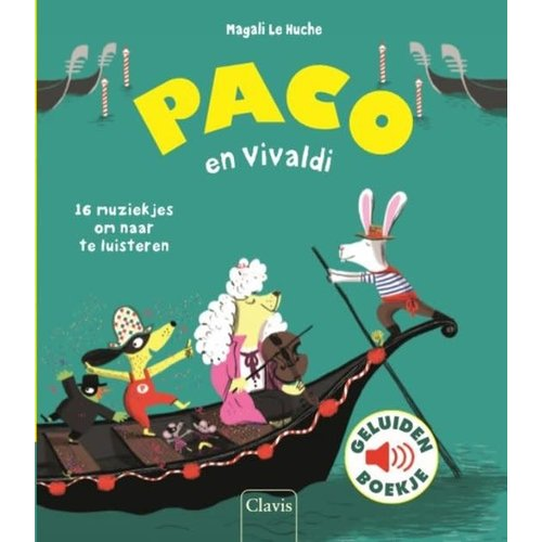 Paco en Vivaldi - geluidenboek. Magali Le Huche