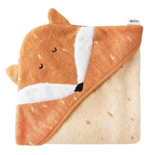 Trixie Badcape Biologisch katoen 75 x 75 cm Mr Fox
