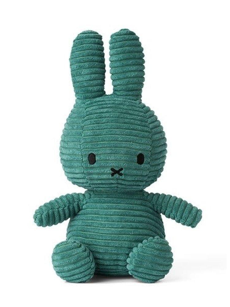 Nijntje knuffel Corduroy Green - 23 cm