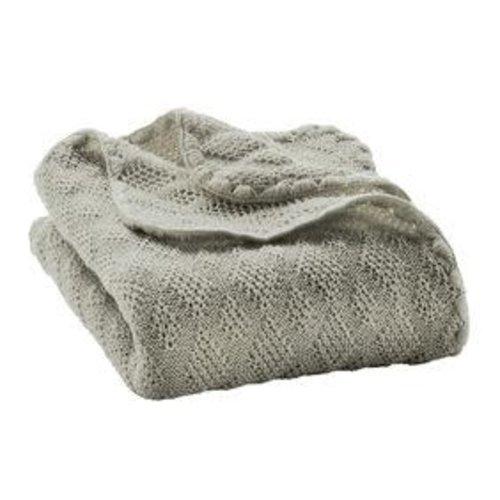 Disana Babydeken GOTS Wol Grey 100x80 cm