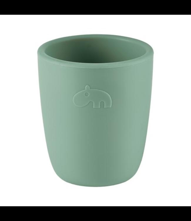 Done by Deer Silicone Mini Mug Green - Groen