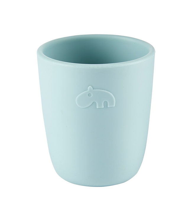 Done by Deer Silicone Mini Mug Blue - Blauw