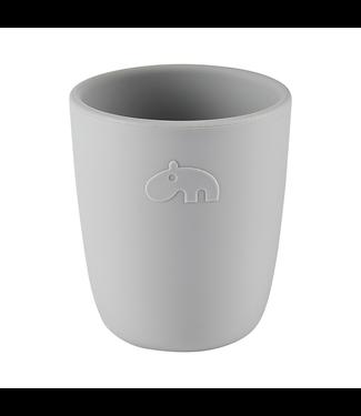 Done by Deer Silicone Mini Mug Grey - Grijs