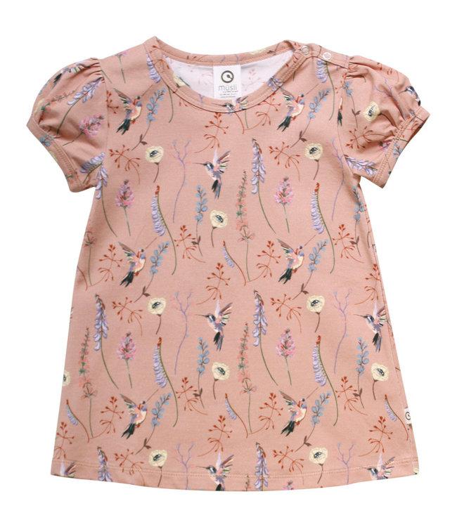 Muesli T- shirt GOTS biologisch katoen Hummingbird