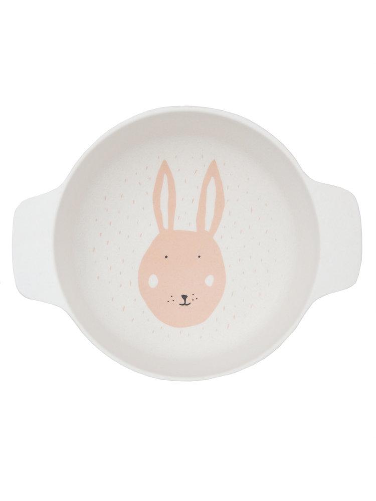 Trixie Bamboe kommetje met handvaten Mrs Rabbit