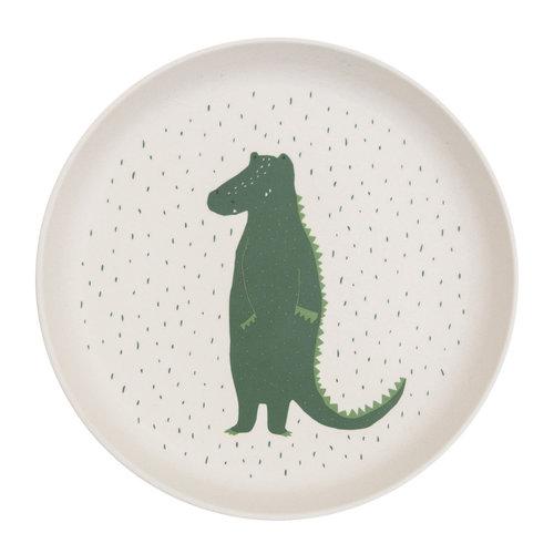 Trixie Bamboe bordje Mr Crocodile