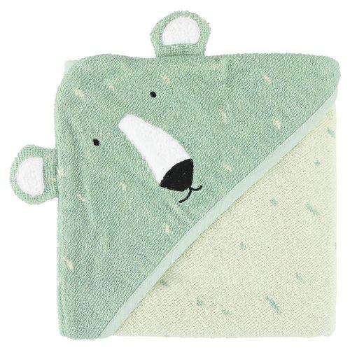 Trixie Badcape Biologisch katoen 75 x 75 cm Mr Polar Bear