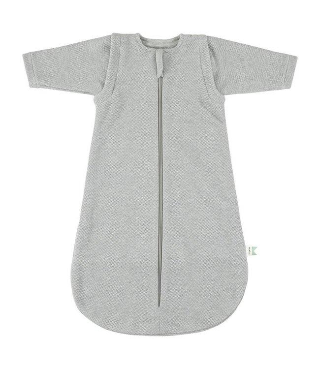 Trixie Tussenseizoen slaapzak Organic 80 cm [2-9 mnd - TOG 1.3] Grain Grey