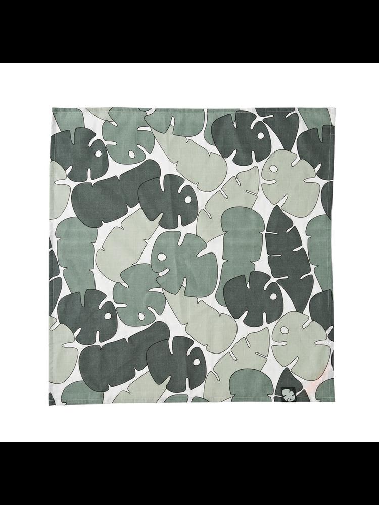 Done by Deer Burp cloth 2-pack Tiny Tropics 70 x 70 cm