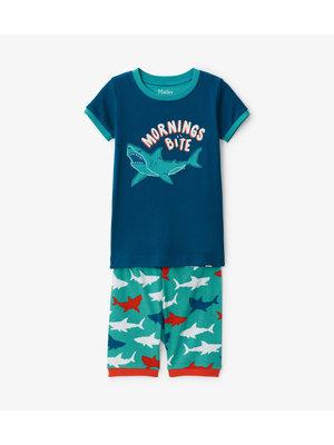 Hatley Great White Sharks Zomer Pyjama set  - Organic Cotton