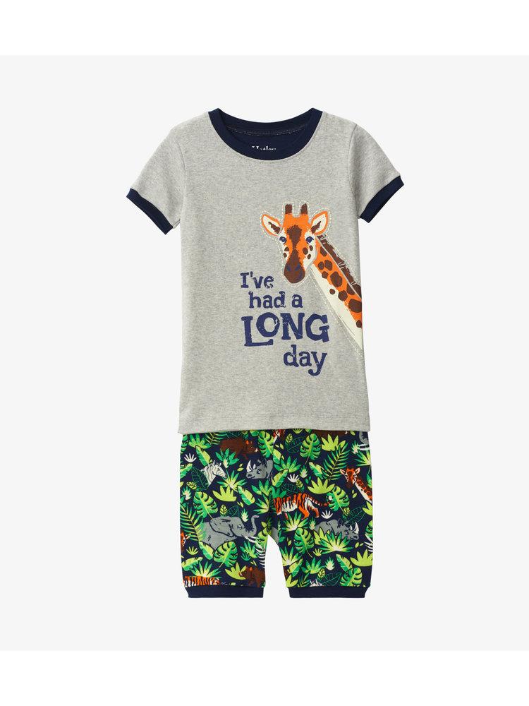 Hatley Jungle Safari Zomer Pyjama set  - Organic Cotton