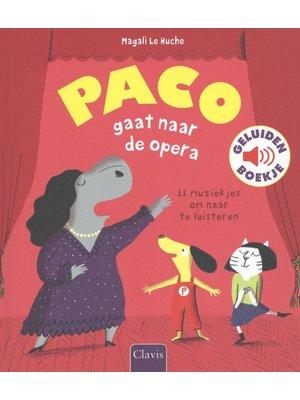 Paco gaat naar de opera  - geluidenboek. Magali Le Huche
