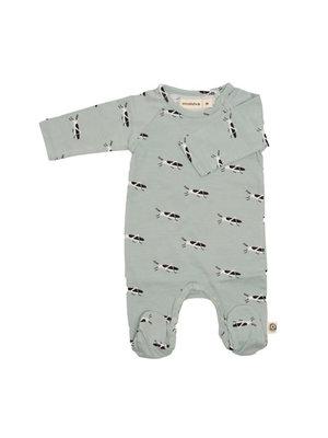 Onnolulu Boxpakje - Pyjama met voetjes GOTS Katoen Grasshopper