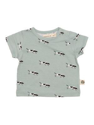 Onnolulu T- shirt Baby GOTS Jersey Katoen Grasshopper