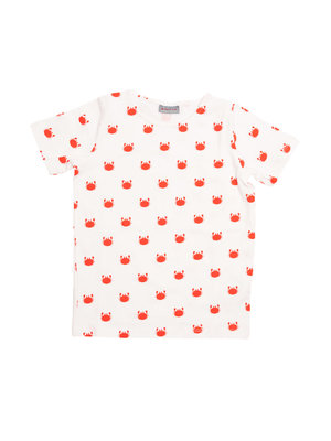 Froy & Dind T- shirt Kids GOTS Katoen Crabfish