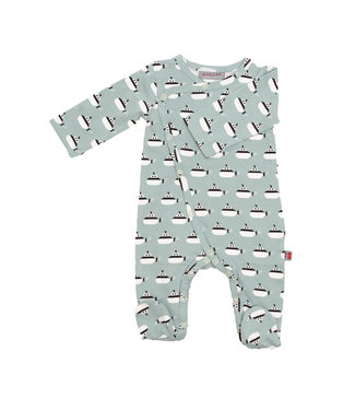 Froy & Dind Boxpakje - Pyjama met voetjes GOTS Katoen  Submarine