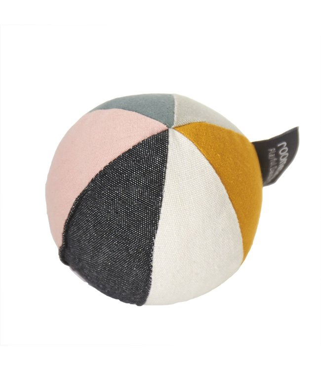 Roommate Canvas Ball with Bell - Multi Organic Cotton