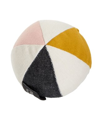 Roommate Canvas Ball with Bell - Rose Organic Cotton