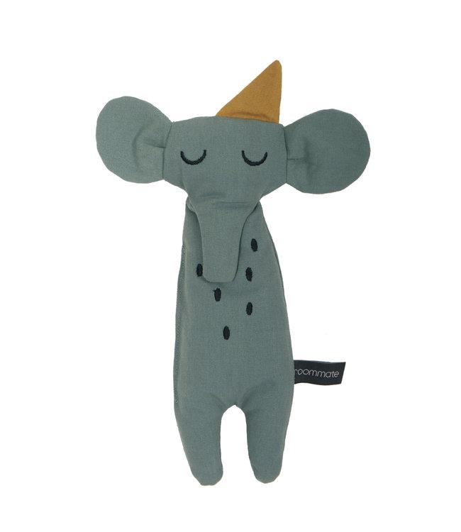 Roommate Elephant Rag Doll - Organic Cotton