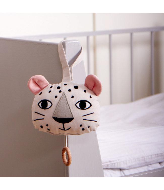 Roommate Leopard Music Mobile - Organic Cotton