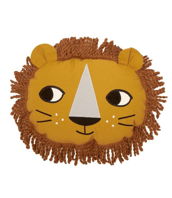 Roommate Lion Cushion - Organic Cotton