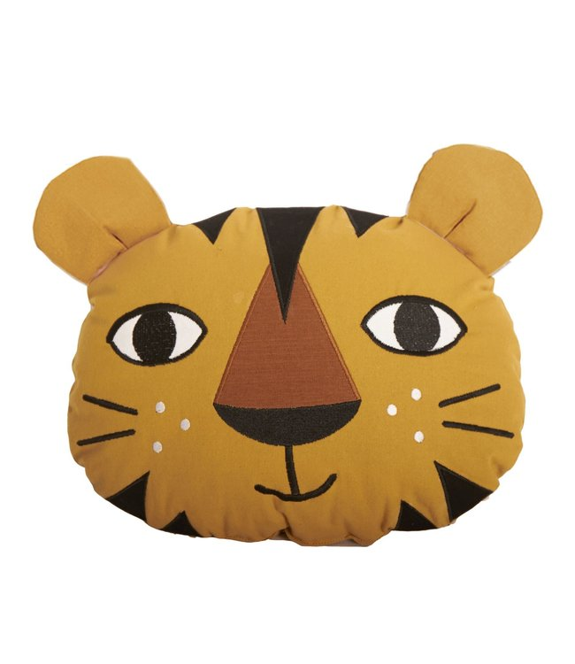 Roommate Tiger Cushion - Organic Cotton