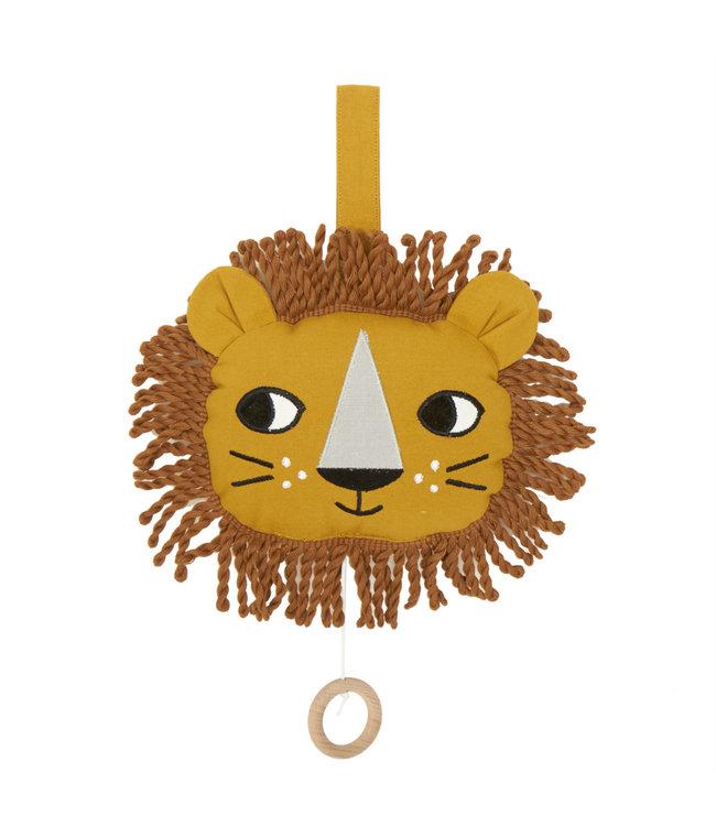 Roommate Lion, Music Mobile - Organic Cotton