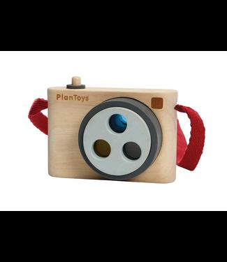Plan Toys Camera met kleurlens van duurzaam hout