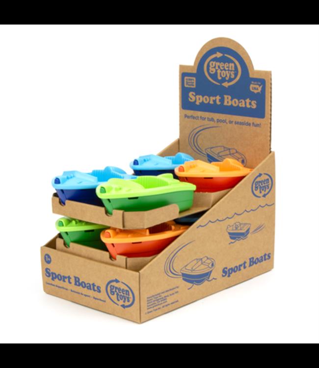 Green Toys Sport Boat - Bootje Oranje van gerecycled plastic
