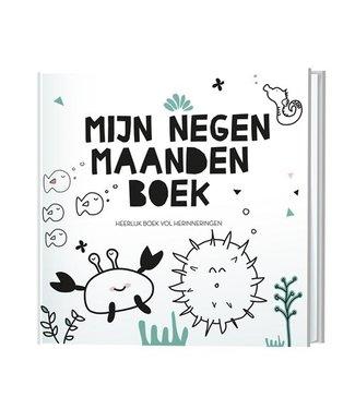 Lantaarn publishers Mijn negen maandenboek - Invulboek