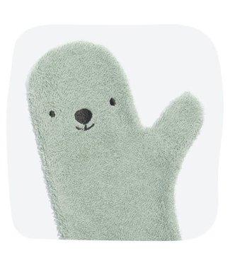 Baby Shower Glove Polar Bear (Groen)