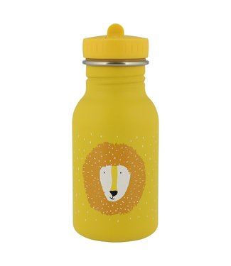Trixie Trixie RVS Drinkfles met rietjes dop 350 ml Mr Lion
