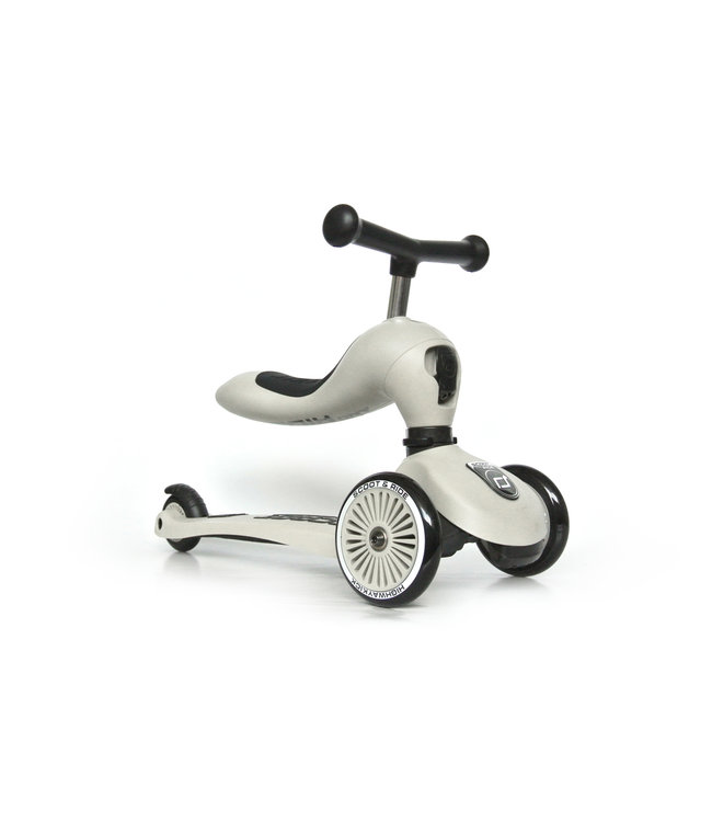 Scoot and ride Step en loopwagen in één - Ash -  Scoot and ride Highwaykick 1