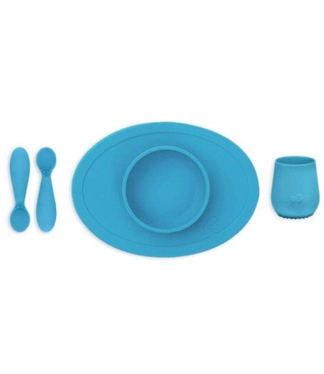 EZPZ EZPZ First Food Set Blue/ blauw