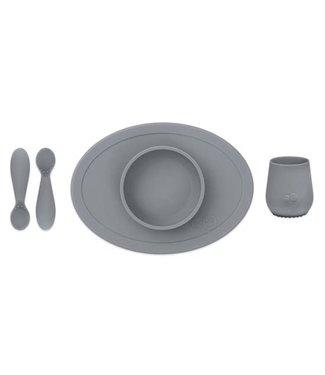 EZPZ EZPZ First Food Set Grey/ Grijs