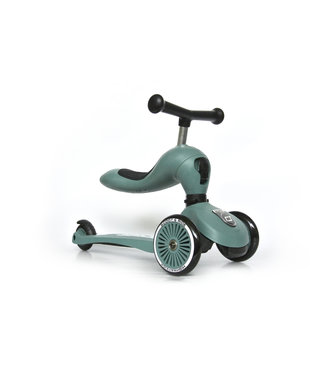 Scoot and ride Step en loopwagen in één - Forest -  Scoot and ride Highwaykick 1