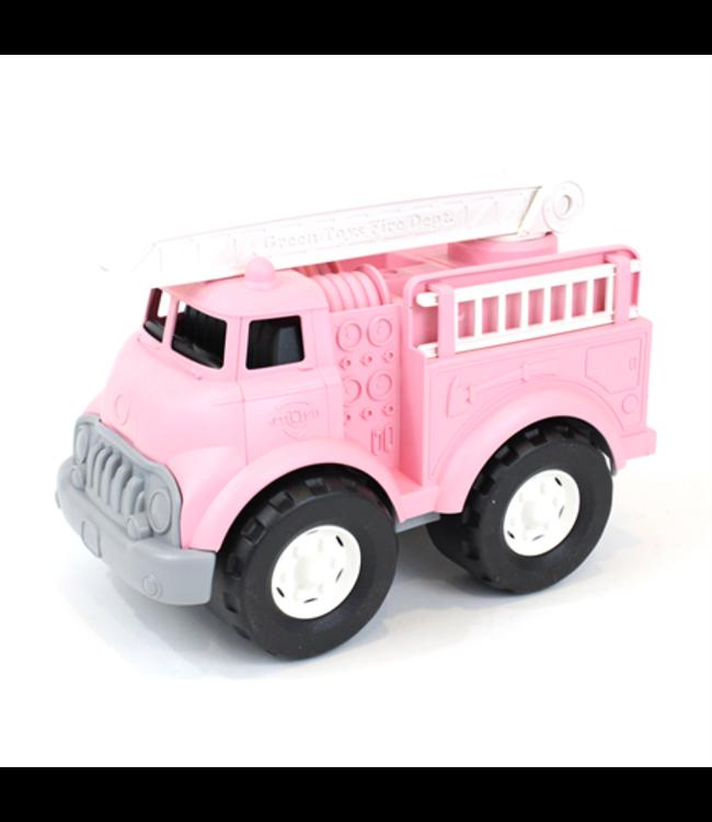 Green Toys Fire Truck Pink - Brandweerauto van gerecycled plastic