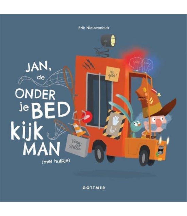 Jan de onderjebedkijkman (met hulpje) - Erik Nieuwenhuis