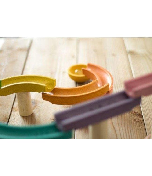 Plan Toys Knikkerbaan Deluxe - van duurzaam hout
