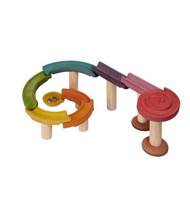 Plan Toys Knikkerbaan Standard - van duurzaam hout