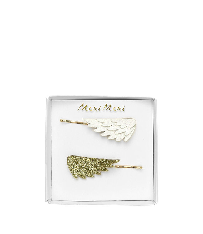 Meri Meri Glitter wing hair slides