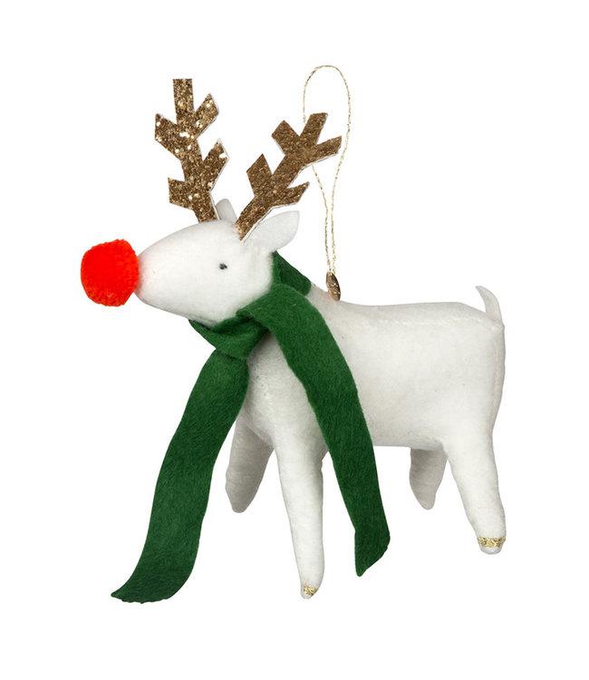 Meri Meri Reindeer Organic felt tree decoration